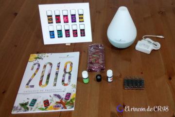 Aceites esenciales: Unboxing del Kit de inicio Premium de Young Living